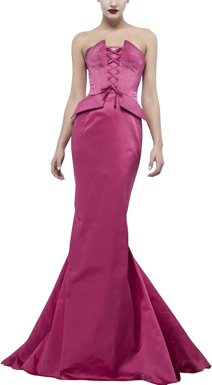 SecretCastle Sweetheart Neckline Mermaid Evening Dress Long
