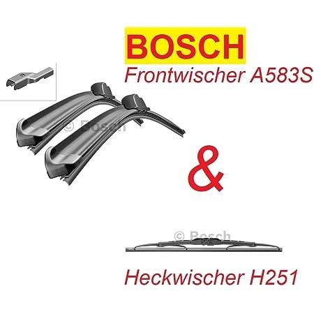 Bosch Scheibenwischer A583s H251 Für Vorne Und Hinten Komplettsatz Auto