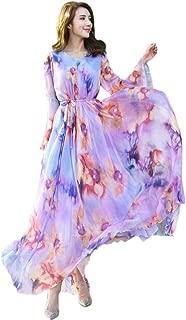 Best lavender floral maxi dress Reviews