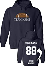 Custom Team Apparel Hoodies - ADD Your Text - Design Your Own Sweaters & Outfits