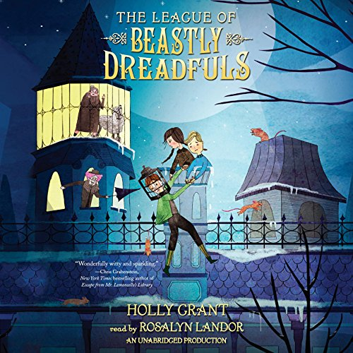 The League of Beastly Dreadfuls, Book 1 Titelbild