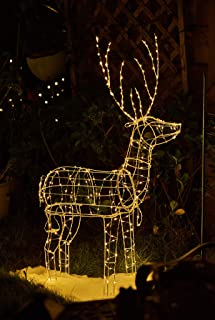 Best outdoor christmas reindeer with lights Reviews