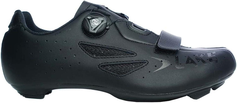 Lake CX176 Cykling skor herrar herrar herrar svart, 44.0  online billigt