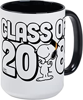CafePress Snoopy Class Of 2018 Coffee Mug, Large 15 oz. White Coffee Cup