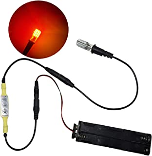 Fast Flickering Fire Effect Ember Orange Flame Simulation Light Kit for Props Theatrical Scenery