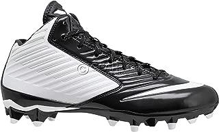 Nike Vapor Speed 3/4 TD White-Black Men's Football Cleats 13.5 US