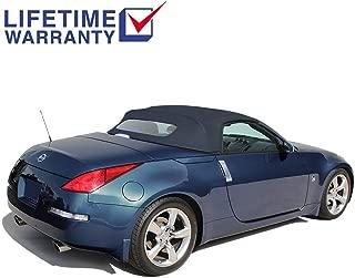 blue 350z convertible