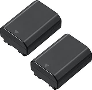2X NP-FZ100 Z Series Rechargeable Battery Pack for Sony NPFZ100 BC-QZ1 A7RM3 A7R III ILCE-A9 ILCE-9 ILCE9 Alpha A9 Digital Camera