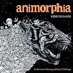 Coloring Book Art Of Kerby Rosanes Animorphia Imagimorphia