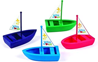 Fun Express Jesus Loves ME Toy Boats - Toys - 12 Pieces