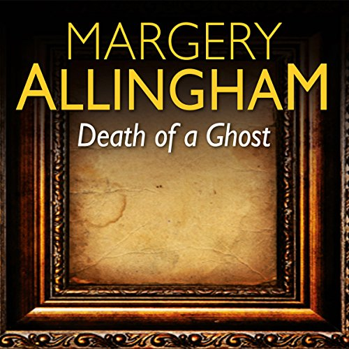 Death of a Ghost audiobook cover art