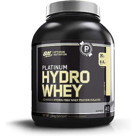 Optimum Nutrition Platinum Hydrowhey Protein Powder, 100% Hydrolyzed Whey Protein Isolate Powder, Flavor: Velocity Vanilla, 3.5 Pound (Pack of 1)