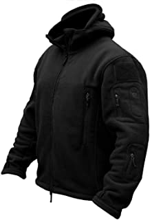 Men's Military Tactical Sport Warm Fleece Hooded Outdoor Adventure Jacket Coats