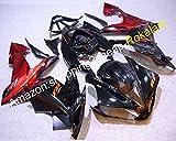 YZF1000R1 04 05 06 Carenados ABS para Yamaha YZF R1 2004-2006 YZFR1 Race Bike Negro Rojo Carrocería piezas (moldeo por inyección)