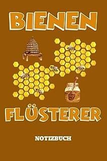 Imker Notizbuch Bienenflüsterer: DIN A5 Notizbuch für Bienenzüchter mit 120 karierten und nummerierten Seiten. Mit Inhaltsverzeichnis, Seite für eigene Daten und Seiten für wichtige Kontaktdaten.
