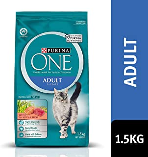 Purina One Cat Salmon & Tuna, 1.5kg