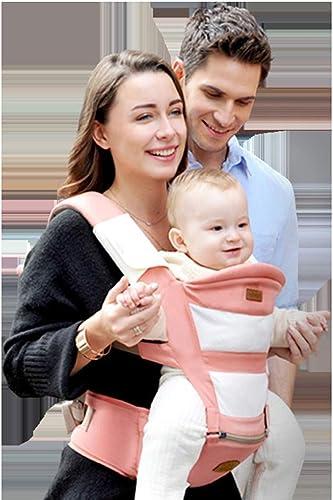 TINERS   Sling Multi-Function Seat Ergonomique Sac à Dos pour bébé 0-36 Mois Four Seasons   Artifact,rose
