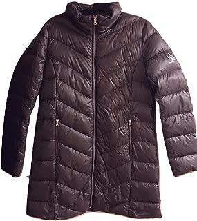 Lauren Ralph Lauren Packable Hooded Down Coat Gray XL
