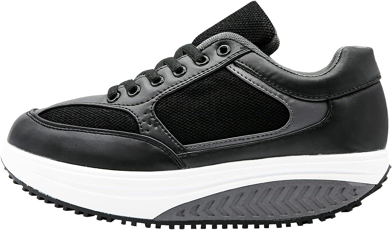 Mapleaf ortopédica Zapatillas Mujer Hombre Running Bambas Air Deportivas Zapatos para Tenis Futbol Baloncesto Andar Fitness Calzado Zuecos Comodos Antideslizante Atletico Trainer Zapato Talla 36 a 41