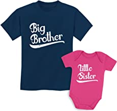 Sibling Shirts Set for Brothers and Sisters Boys & Girls Gift Set