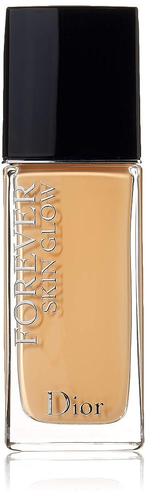 クスクス気楽な財政クリスチャンディオール Dior Forever Skin Glow 24H Wear High Perfection Foundation SPF 35 - # 3W (Warm) 30ml/1oz並行輸入品