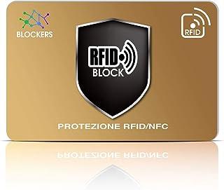 Carta Di Blocco RFID - ANTI FRODE 2020 - Protezione RFID di Carte di Credito Contactless - il Blocco Rfid ti protegge dal ...