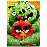Módulo patrón de montaje The Angry Birds Movie rompecabezas de madera 1000 piezas