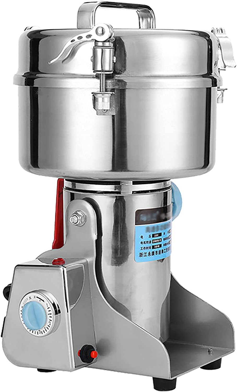 CLIng Free shipping New 2000g Electric Grain Mill High New products, world's highest quality popular! Speed St Grinder Pulverizer