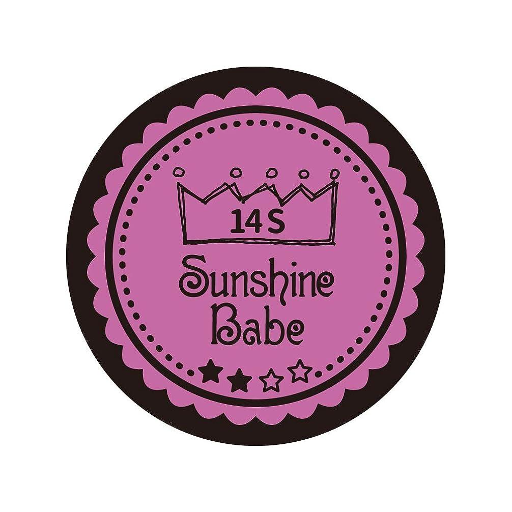 茎優遇南極Sunshine Babe コスメティックカラー 14S スプリングクロッカス 4g UV/LED対応
