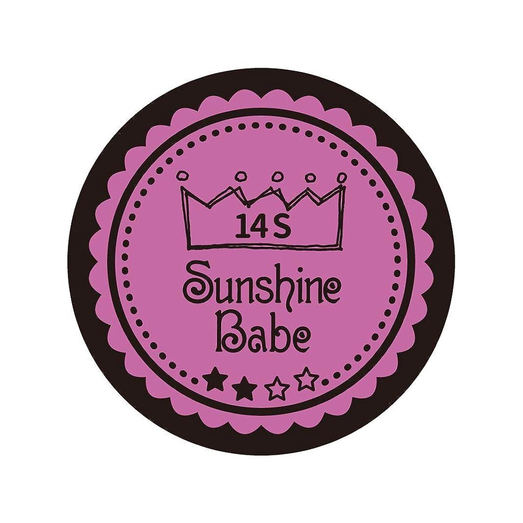 予想外合併症スキニーSunshine Babe コスメティックカラー 14S スプリングクロッカス 4g UV/LED対応