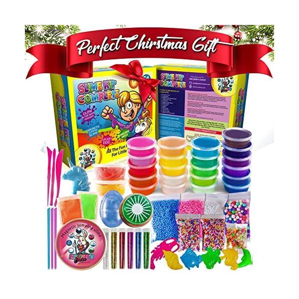 Slime Kit for Girls Complete - Super Fun Girls Toys - Jumping Slime - DIY Big Slime Kit - 21 Color Crystal Slime… 3