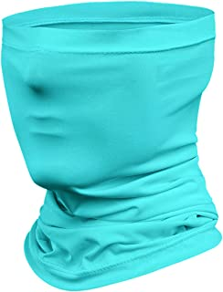 Jjyee Neck Gaiter Balaclava Bandana Headwear, Ice Silk Cooling Sports Face Cover UV Wind Protection for Dust Outdoors