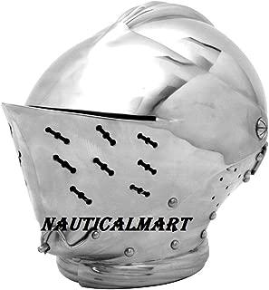 NAUTICALMART Tudor Renaissance Close Helm Jousting Helmet