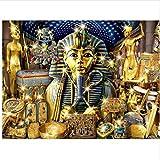WACYDSD Puzzle 1000 Piezas Faraón Egipcio Rompecabezas Clásico DIY Kit De Juguete De Madera Decoración para El Hogar