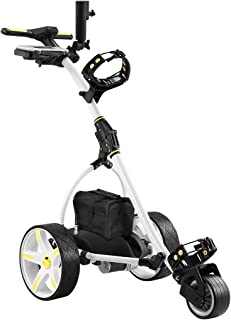 New Electric Golf Buggy Foldable Golf Trolley Automatic Motorized 3 Wheel Cart