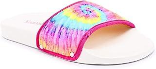 KazarMax Women's Tie Dye Sliders Flip-Flops