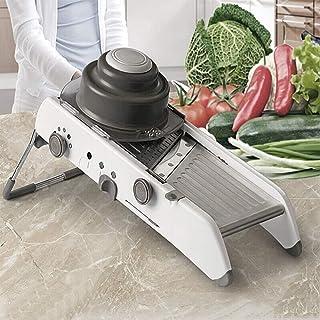 WeFun Mandoline de Cuisine Multifonctions Coupe légumes de qualité Professionnel Robuste - Mandoline Légumes Pliable Régla...