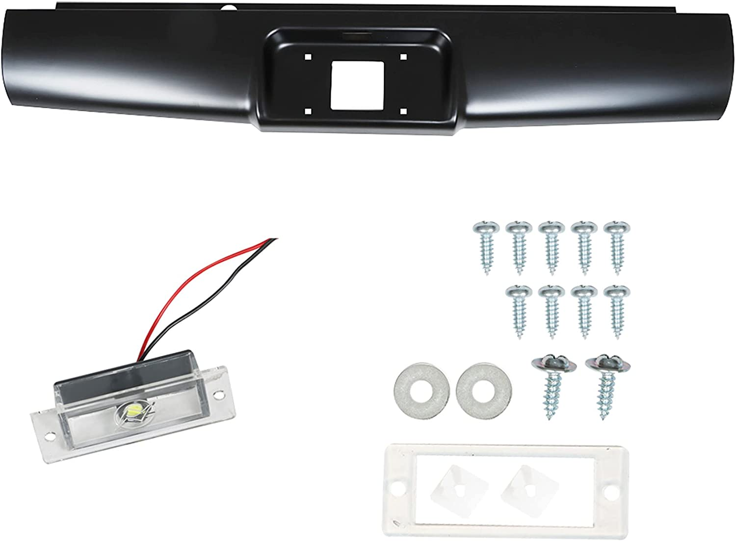 RainMan 70% OFF Outlet S Rear Steel Bumper Roll Bargain Colorad Pan for Chevy 2004-2012