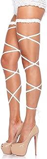 Leg Avenue Women's Shiny Garter Leg Wraps