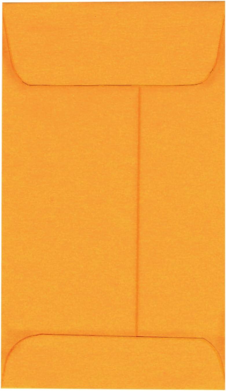 Standard Limited price Kraft New York Mall Coin Job Envelopes 5 1 2