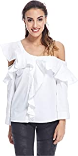 Fashion Union Blouse for Women - White - 8 UK