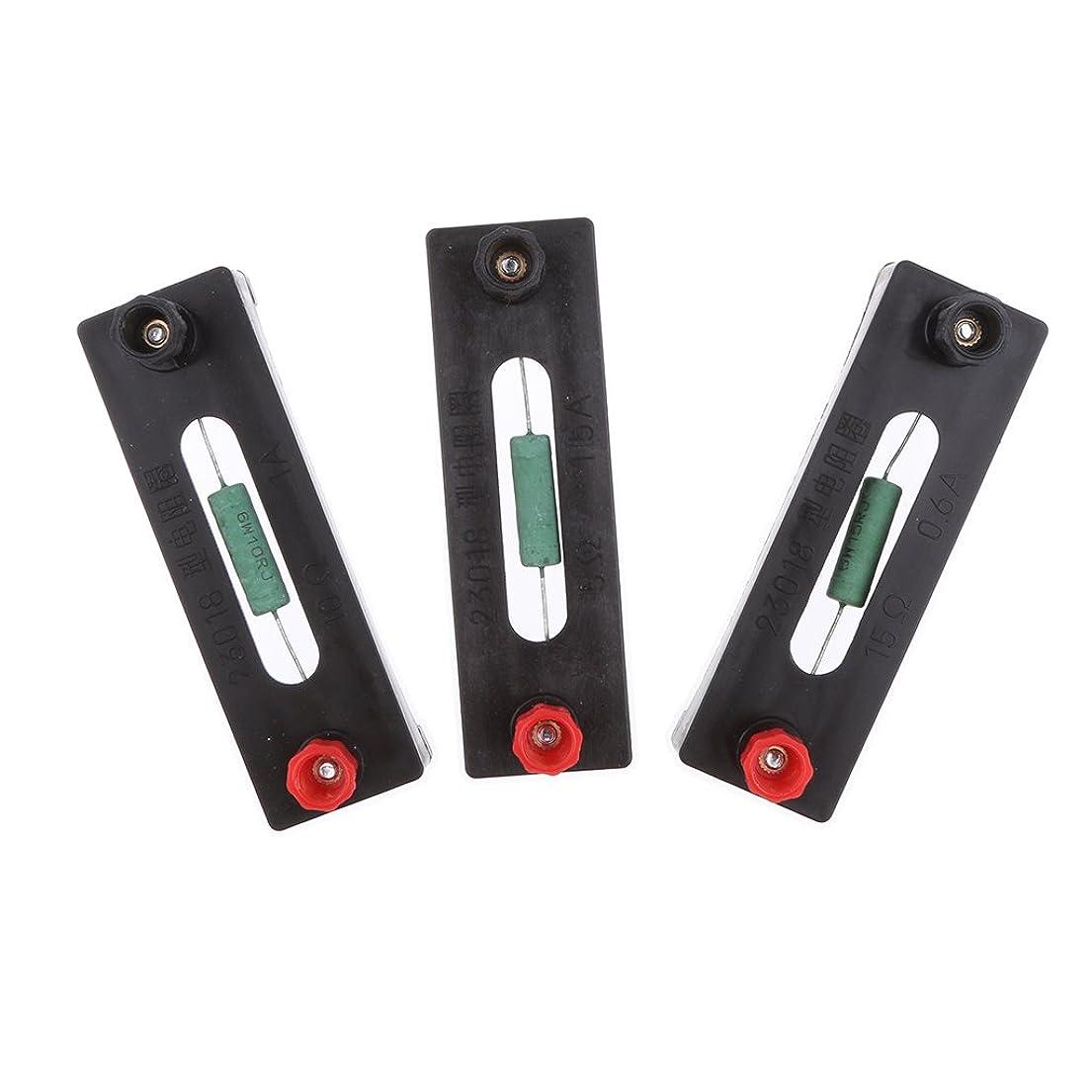 オーガニック成果ガス5/10/150オーム 物理 電気実験装置 抵抗コイル 全3本