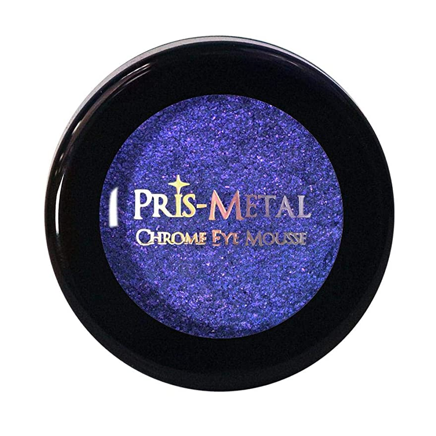 小屋オーバーコートインフラJ. CAT BEAUTY Pris-Metal Chrome Eye Mousse - Poppin Lockin (並行輸入品)