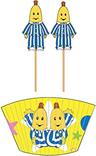 Bananas In Pyjamas Cupcake Kit One Size