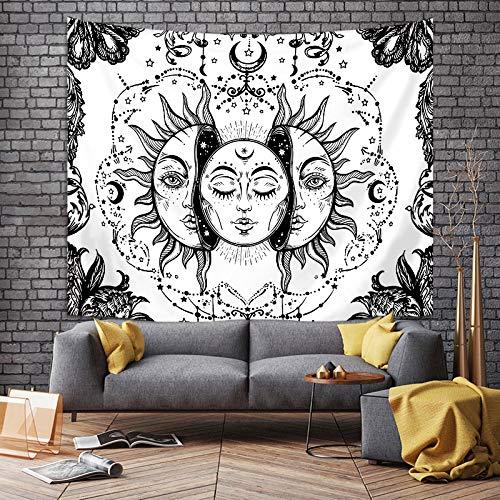 Estilo Europeo Sol Simple Tela Colgante Moda Y Duradera Impresión Digital Decoración Tela De Fondo Sala De Estar Dormitorio Junto A La Cama Dormitorio Casa De Familia Tapiz