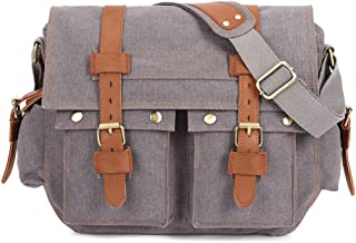 Mens Bag Outdoor Sports And Leisure Bag Large Capacity Multi-pocket Business Computer Bag Men's Canvas Shoulder Bag Europe And America Messenger Bag High capacity