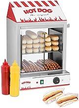 Royal Catering Cuiseur à Vapeur Hot-Dogs Machine Appareil a Hot Dog RCHW 2000 (2000 W, Capacité: 200 saucisses, 50 petits ...