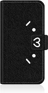 CaseMarket SHOBON apple iPhone 6 (4.7インチ) (iPhone6) 手帳型 オリジナルデザイン スリム ケース [ ショボーン (´・ω・`) × ナエ-(´Д`) 手帳 - ブラック ]