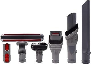 へッドツールキット添付アダプター対応Dyson(ダイソン) V6 V7 V8 V10 V11シリーズ 掃除機パーツアタッチメント(6点セット)