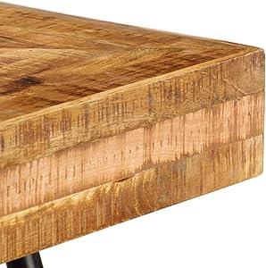 vidaXL Madera Mango Maciza Mesa Escritorio 118x50x75 cm Ordenador Hogar Casa